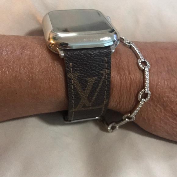 Louis Vuitton Jewelry Lv Monogram Apple Watch Band Poshmark